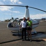 My first helicopter flight… over Uluru