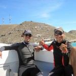 Pablo and Otto - divemaster in Los Roques