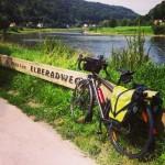 Elberadweg: de Bad Schandau a Sörnewitz